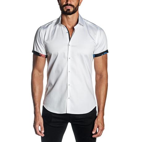 Positano Short Sleeve Shirt // White (S)