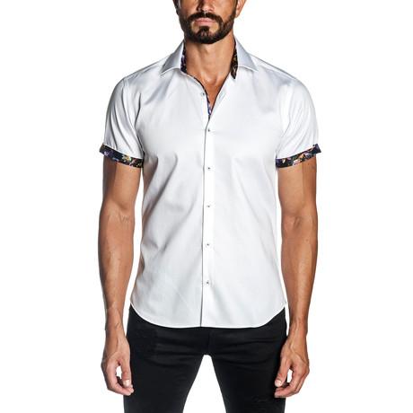 Monaco Short Sleeve Shirt // White (S)