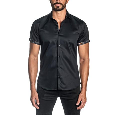Marc Short Sleeve Shirt // Black (S)