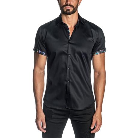 Max Short Sleeve Shirt // Black (S)