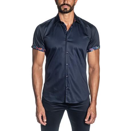 Denali Short Sleeve Shirt // Navy (S)