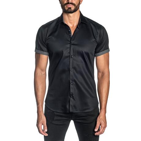 Ben Short Sleeve Shirt // Black (S)