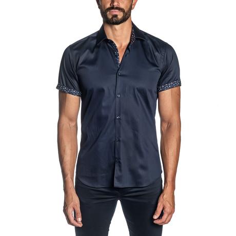 Wyatt Short Sleeve Shirt // Navy (S)