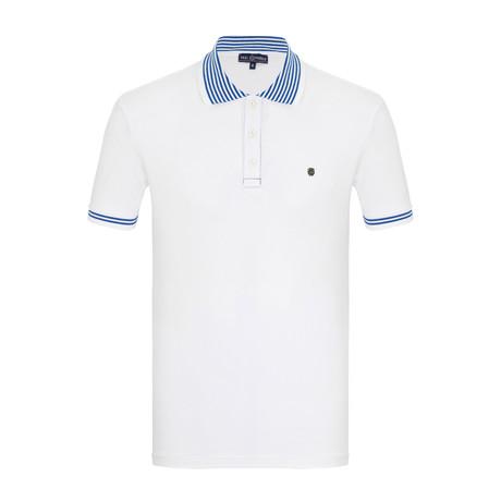 Max Short Sleeve Polo Shirt // White (S)