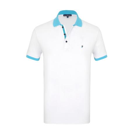 Pedro Short Sleeve Polo Shirt // White (S)