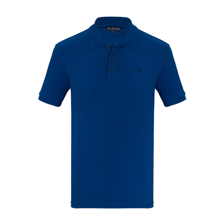 Armando Short Sleeve Polo Shirt // Sax (S)