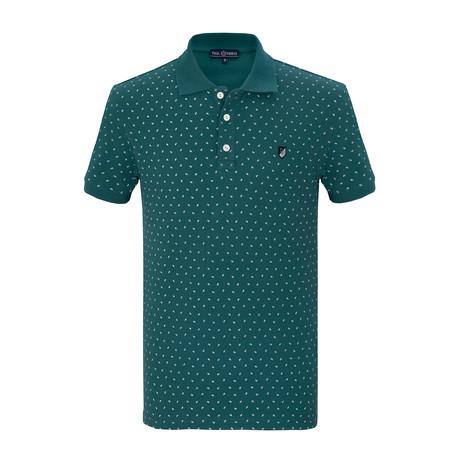 Takumi Short Sleeve Polo Shirt // Green (S)