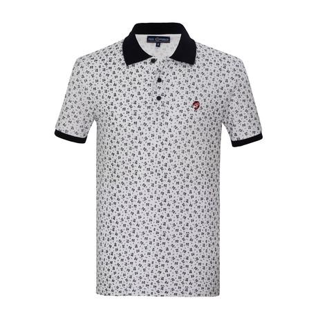 Xherdan Short Sleeve Polo Shirt // White (S)