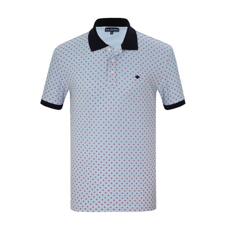Joseph Short Sleeve Polo Shirt // Light Blue (S)