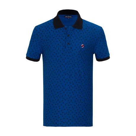 Jake Short Sleeve Polo Shirt // Sax (S)