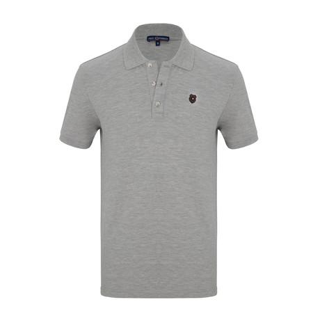 Jesse Short Sleeve Polo Shirt // Gray (S)