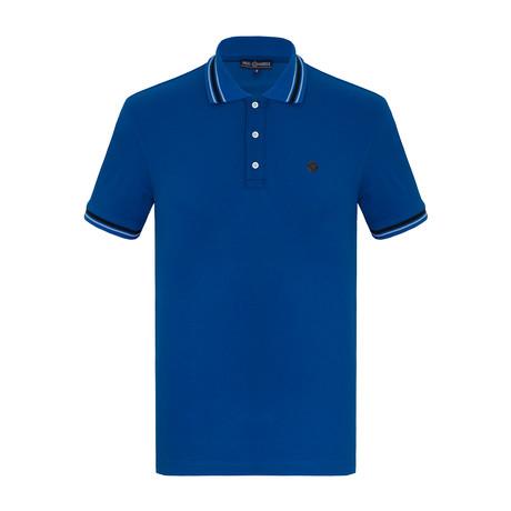 Rusty Short Sleeve Polo Shirt // Sax (S)