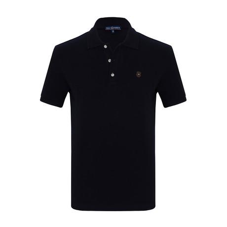 Alex Short Sleeve Polo Shirt // Navy (S)