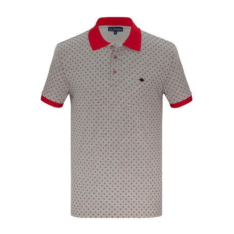 Adam Short Sleeve Polo Shirt // Gray (S)