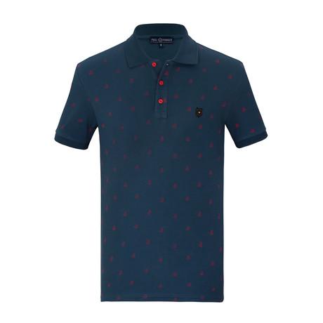 Eddie Short Sleeve Polo Shirt // Marine (S)