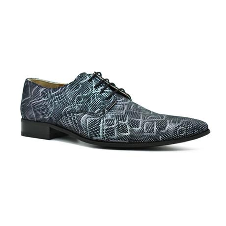 Dress Shoes // Dark Blue Shiny (Euro: 39)