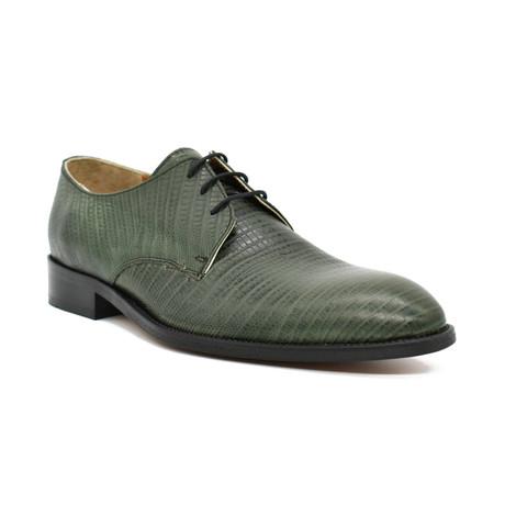 Bagli Dress Shoes // Crocodile Green (Euro: 39)