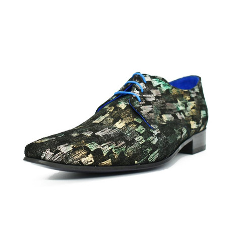 Dress Shoes // Green Picasso (Euro: 39)