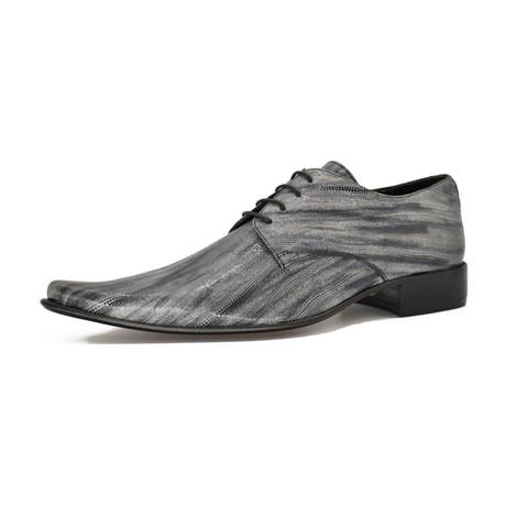 Dress Shoes // Gray Line (Euro: 39)