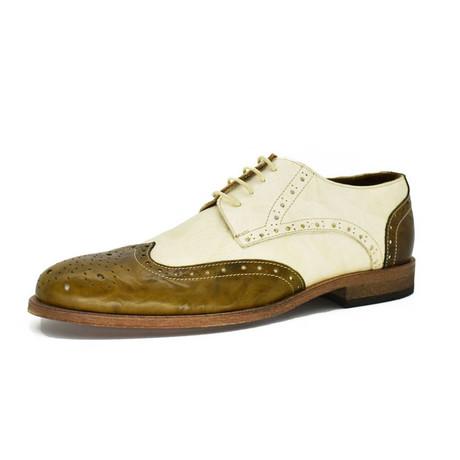 Dress Shoes // Green + White (Euro: 39)