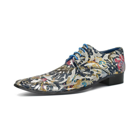 Dress Shoes // Blue + Rose (Euro: 39)
