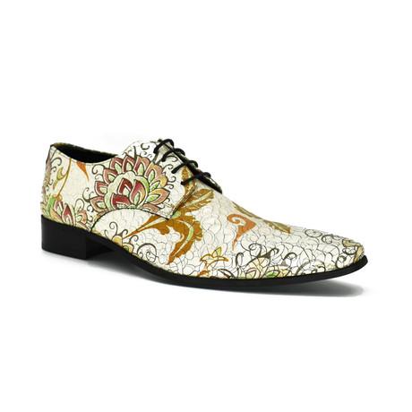 Dress Shoes // White + Orange Wrap (Euro: 39)