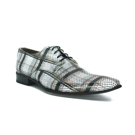 Dress Shoes // Black + White (Euro: 39)