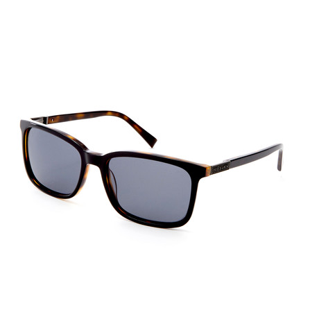 Men's Adonis Rectangle Polarized Sunglasses // Black