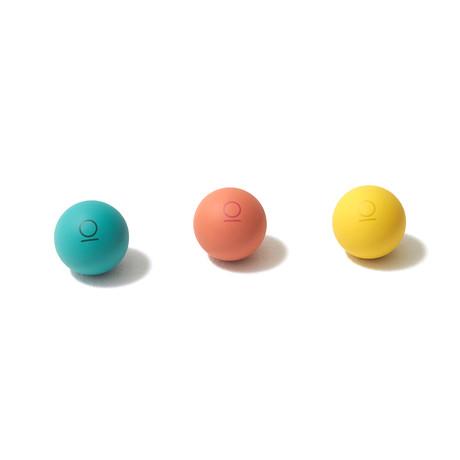 My Rubber Lover Massage Ball // Set of 2 (British Green)
