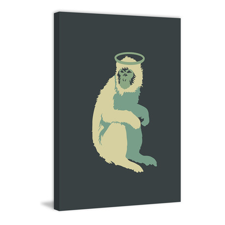 """Doolittle // Painting Print on Wrapped Canvas (8""""W x 12""""H x 1.5""""D)"""