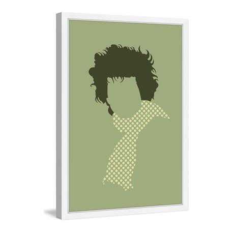 "Dylan // Framed Painting Print (8""W x 12""H x 1.5""D)"