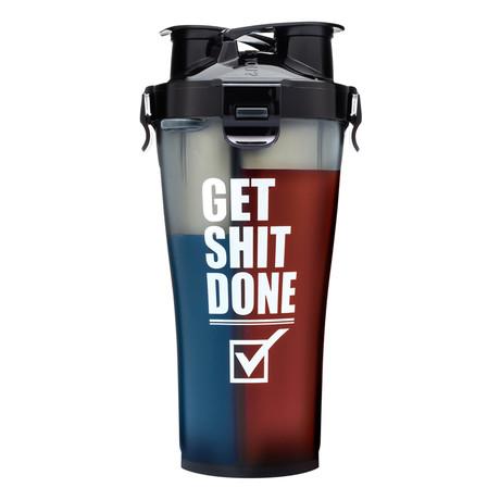 Get Shit Done // Dual Shaker // 36 oz. // Set of 2