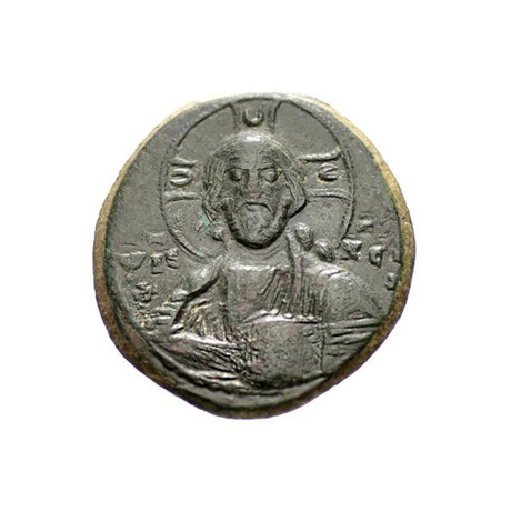"Byzantine ""Portrait Of Christ"" Coin // 969 - 976 AD"