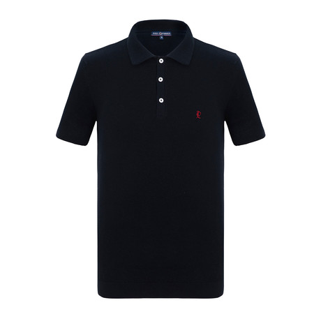Jordan Short Sleeve Polo Shirt // Navy (3XL)