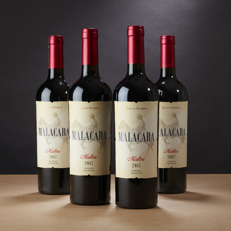 91 Point Malacara Argentinian Malbec // Set of 4
