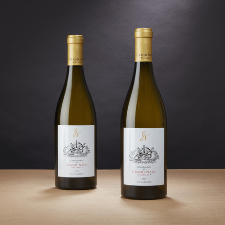 Grand Napa Vineyards Los Carneros Chardonnay // Set of 2