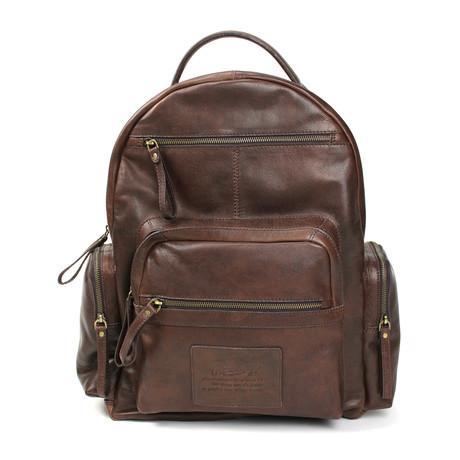 Rugged Backpack // Brown