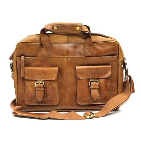 Frankie's Briefcase // Tan