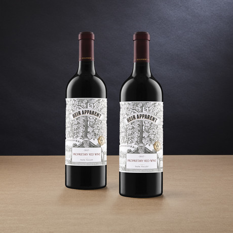90 Point Heir Apparent Napa Proprietary Red // Set of 2