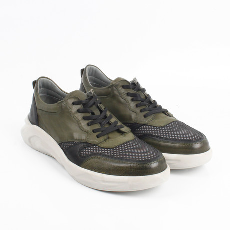 Aldo Sneakers // Green (Euro: 40)
