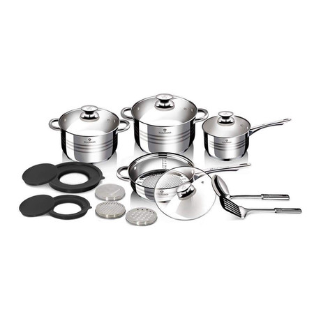 15-Piece Stainless Steel Blaumann Cookware Set