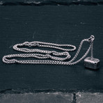 Malleum Pendant + Necklace // Silver