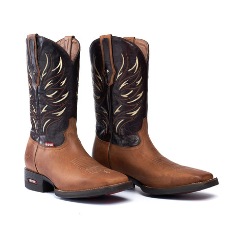 Rodeo Square Boot Falcon // Azafran (US: 7EE)