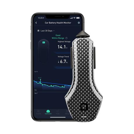 ZUS Smart Car Charger Carbon Fiber Edition