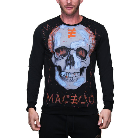 Sweater Skull // Black (2XL)