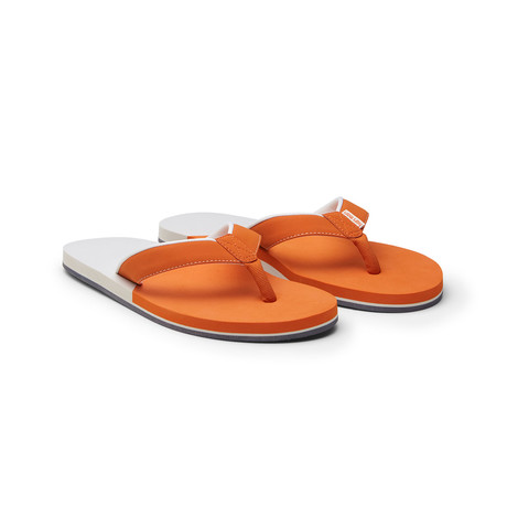 Piers Crew Flip Flops // Orange (US: 8)