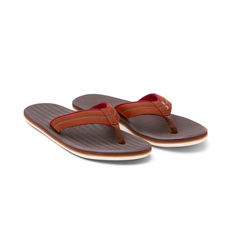 Brazos LX Flip Flops // Brown (US: 8)