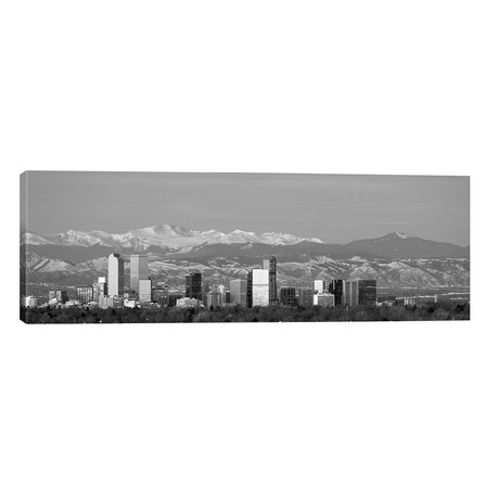 "Denver, Colorado, USA // Panoramic Images (60""W x 20""H x 0.75""D)"