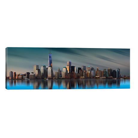 "New York World Trade Center // Yi Liang (60""W x 20""H x 0.75""D)"