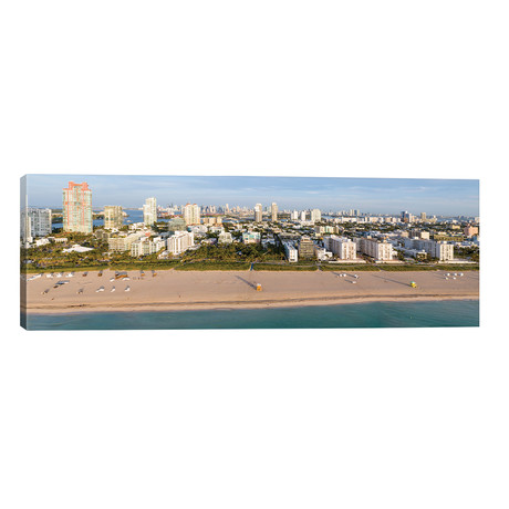 "Miami Beach Panorama // Matteo Colombo (60""W x 20""H x 0.75""D)"